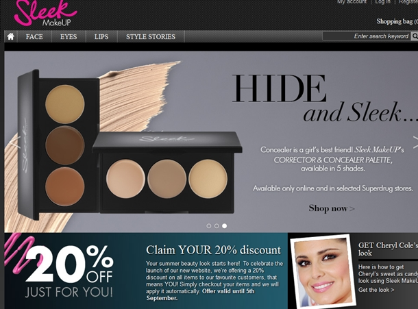 sleek makeup discount
