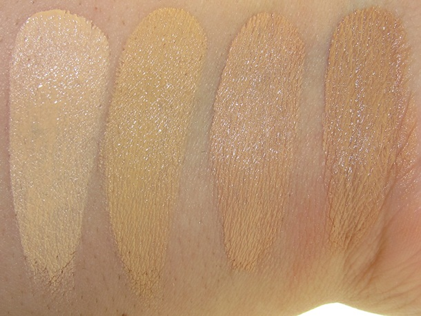 Bare Minerals Correcting Concealer Swatches