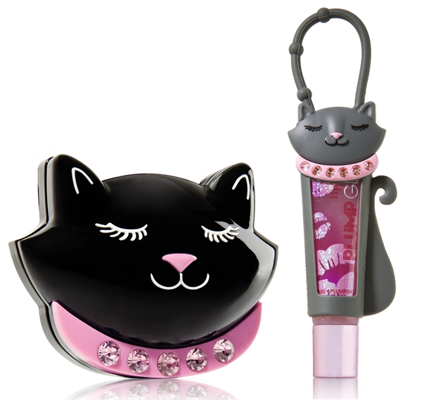 Bath Body Works Cat Mirror Lipgloss Holder