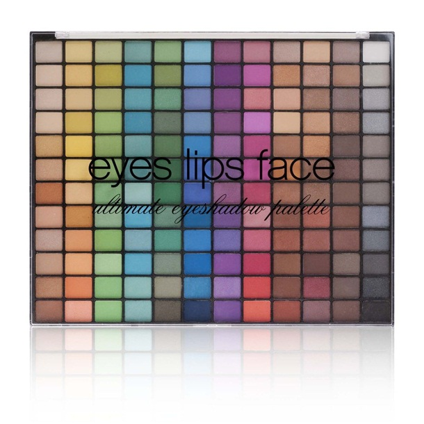 E.L.F. 144 Piece Eyeshadow Palette Neutral & Bright Holiday 2012