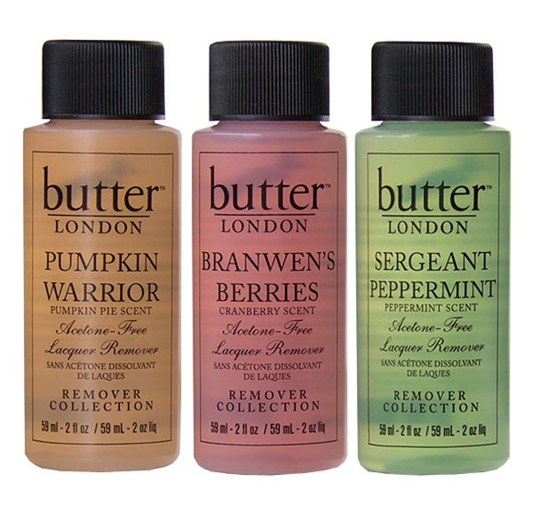 Butter London Seasonal Remover Trio