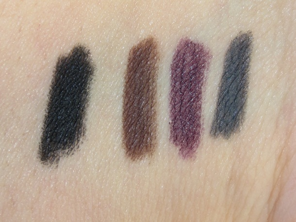 Lorac Eye Candy Eye Pencil Collection Swatches