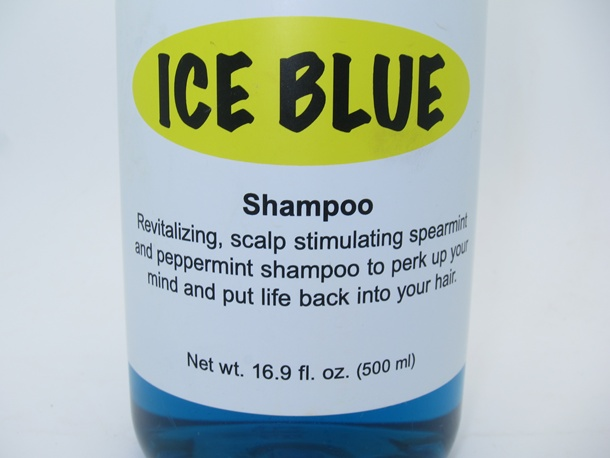 Review: Lush Ice Blue Shampoo for Minty Fresh Hair