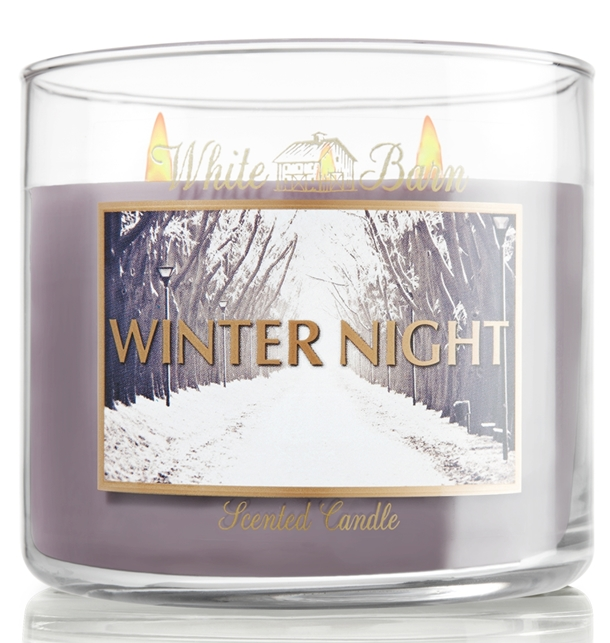 Winter Night Candle