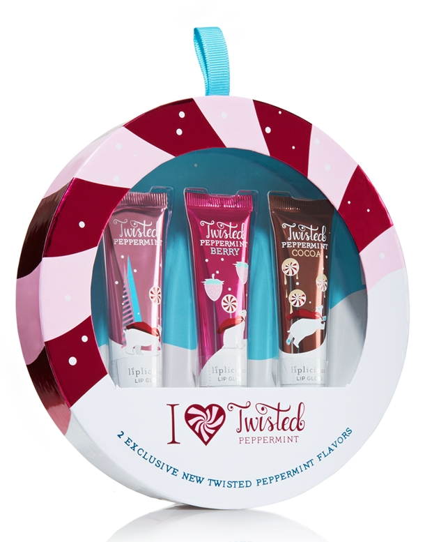 Bath & Body Works Liplicious I Heart Twisted Peppermint Gift Set Holiday 2012