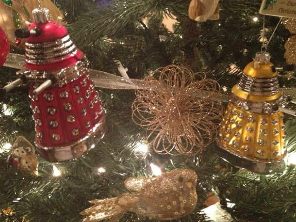 What's a Christmas Tree Without Daleks?