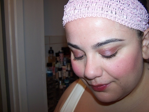 E.L.F. Studio Long Lasting Lustrous Eyeshadow FOTD Soiree
