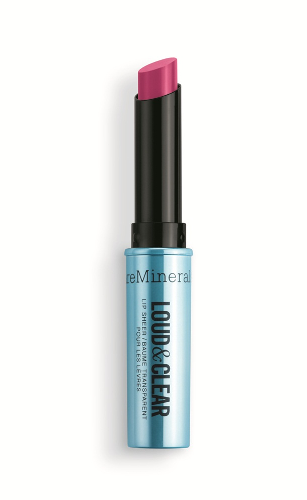 Bare Minerals Loud Clear Lip Sheer Amped Pink