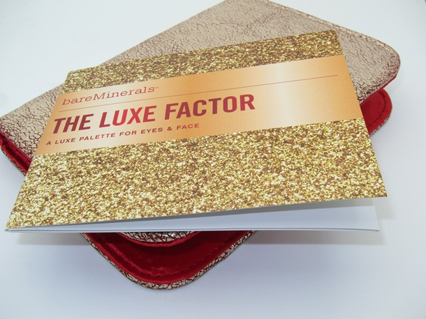 Bare Minerals Ready The Luxe Factor Face Eye Palette Holiday 2012