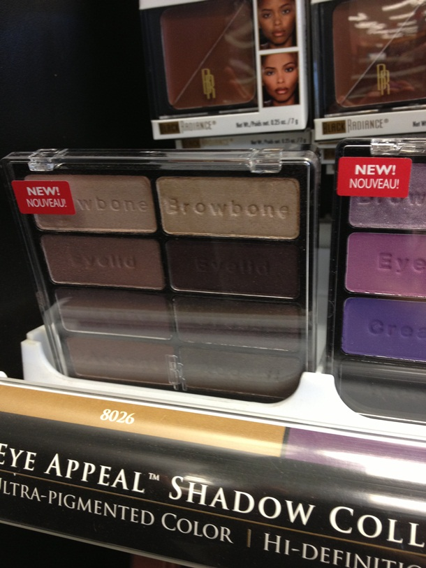 Black Radiance Eye Appeal Shadow Palettes