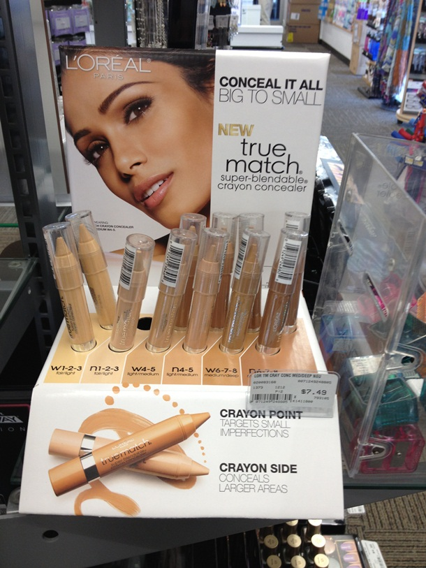 LOreal True Match Super Blendable Crayon Concealer