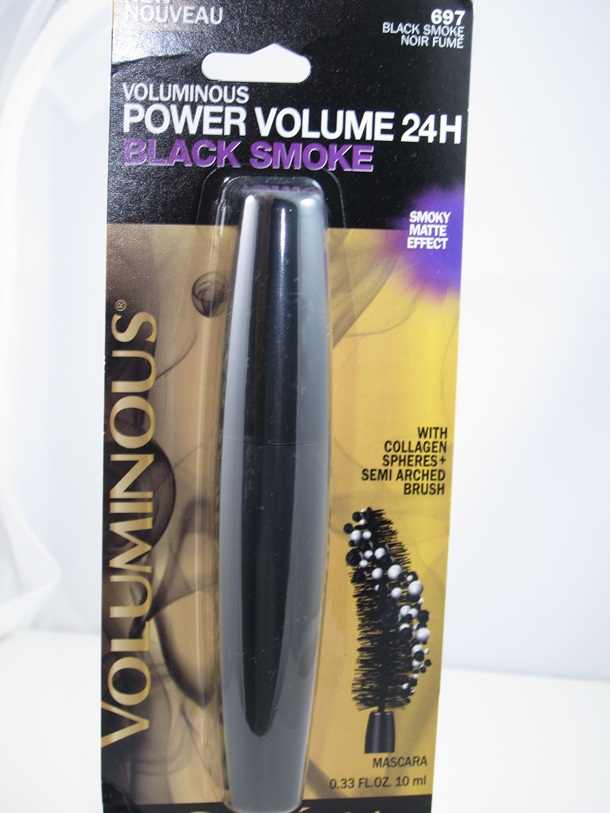 LOreal Voluminous Power Volume 24 H Black Smoke Mascara