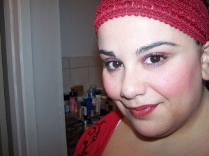 Lancome Bordeaux L'Absolu Rouge Holiday 2012 FOTD