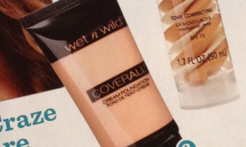 Wet n Wild Coverall Cream Foundation Spring 2013