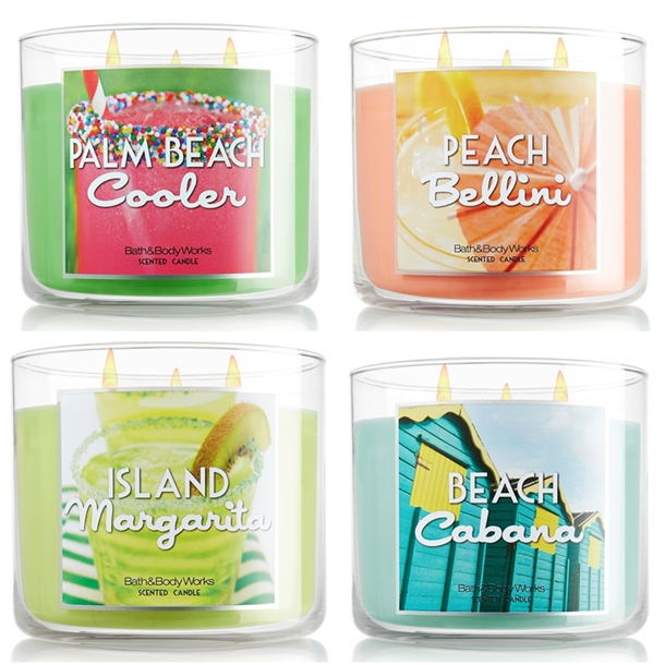 Bath Body Works Spring 2013 Candles