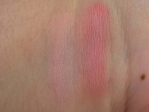 Lancome Blush in Love Peache Joue-Joue Swatches