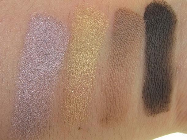 MAC Archie's Girls Caramel Sundae Eyeshadow Palette Swatches
