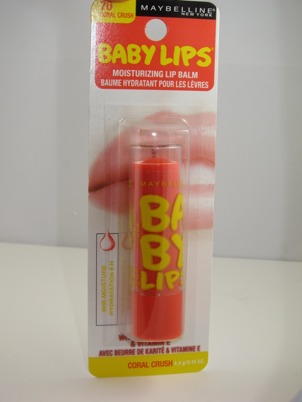 Maybelline Coral Crush Baby Lips  Lip Balm