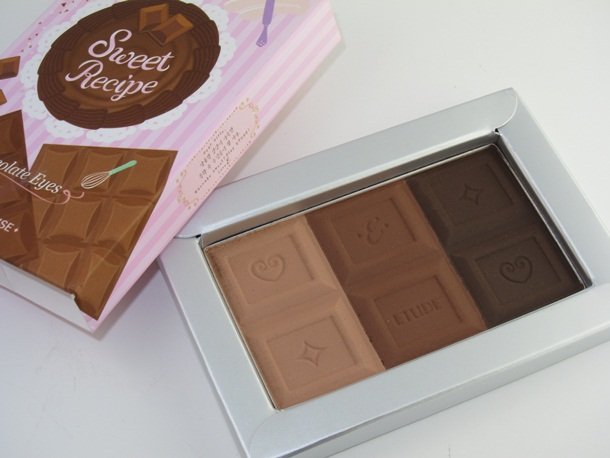 Etude House Sweet Recipe Chocolate Eyes Palette
