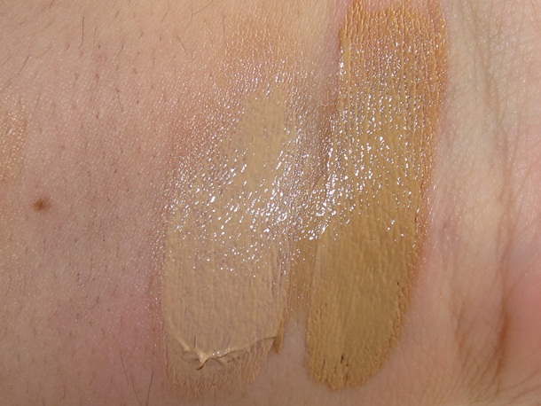 Nuance Salma Hayek Renewed Radiance Brightening BB Cream Swatches