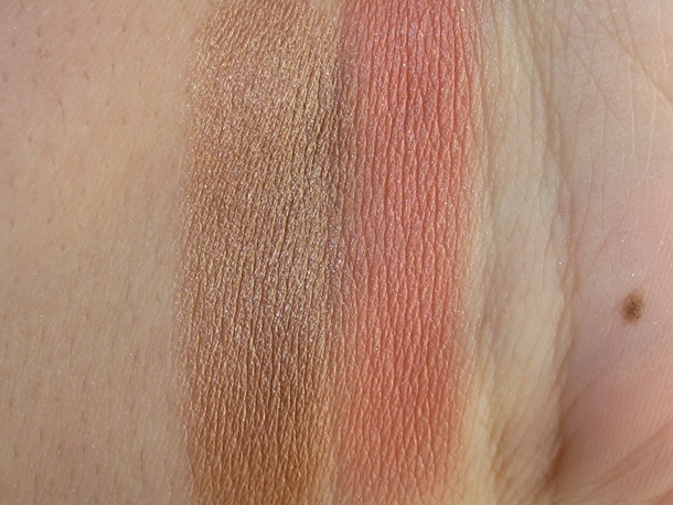 Sonia Kashuk Chic Luminosity Bronzer Blush Duo Glimmer Swatches