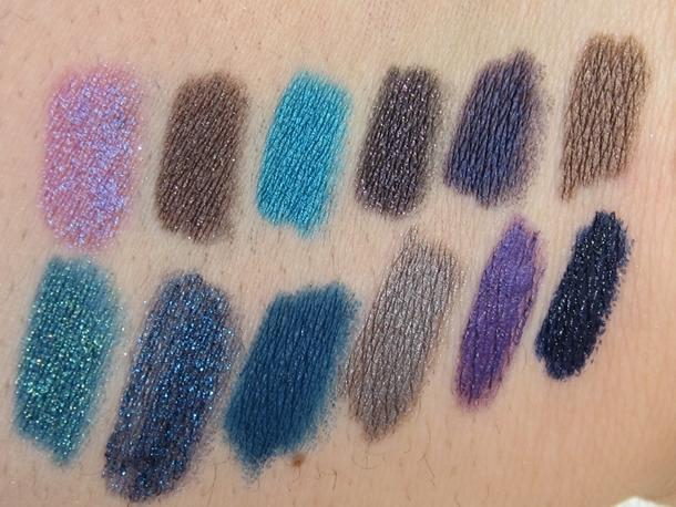 Urban Decay Glide-On Eye Pencil Relaunch Swatches
