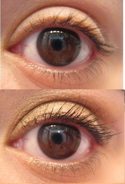 Pixi Large Lash Mascara Before and After