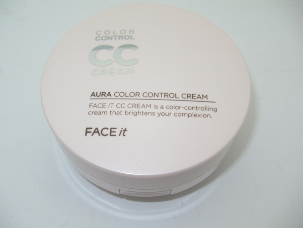 The Face Shop Aura Color Control Cream Review & Swatches