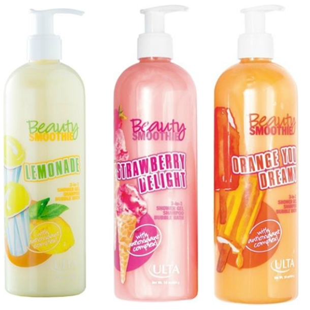 Ulta Beauty Smoothie Shower Gels Summer 2013