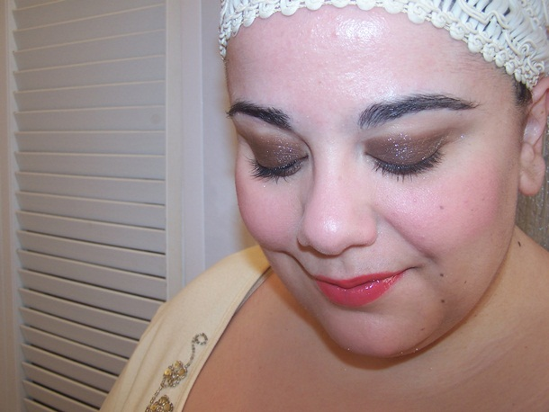 Urban Decay Moondust Eyeshadow Diamond Dog FOTD
