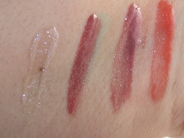 Elizabeth Arden Beautiful Color Luminous Lip Gloss Swatches