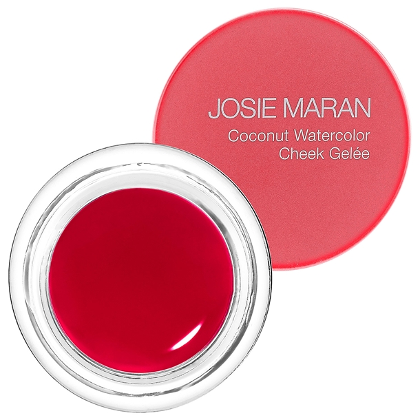 Josie Maran Coconut Watercolor Cheek Gelee Pink Escape