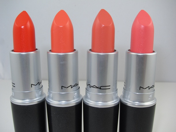 MAC All About Orange Lipstick