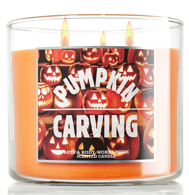 Bath Body Works Pumpkin Candles