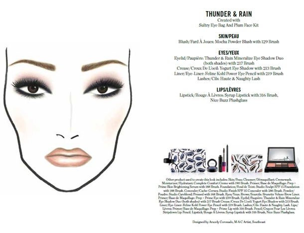 MAC Illustrated Collection by Rebecca Moses Thunder & Rain
