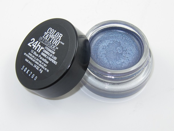 Maybelline Blue Paradise 24HR Color Tattoo Eyeshadow