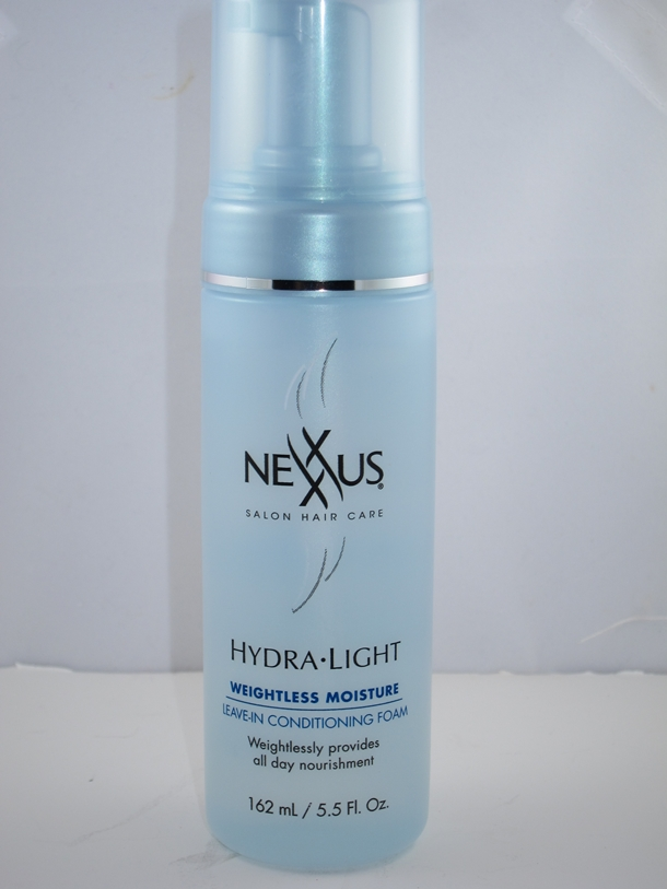 Nexxus Hydra Light Weightless Moisture Leave In Conditioning Foam