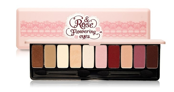 Etude House Etude House Rose Flowering Eyes Palette
