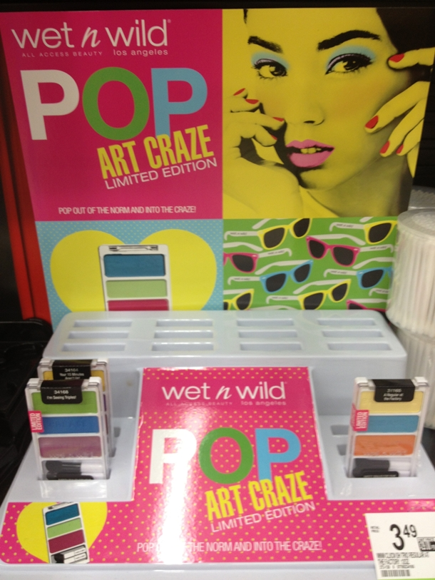 Wet n Wild Pop Art Craze Collection