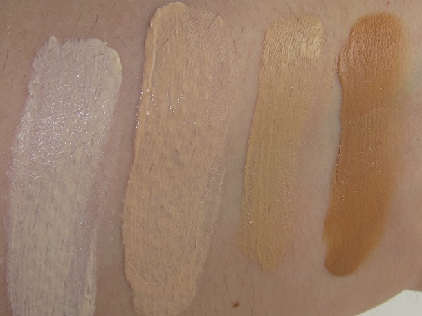 Tarte BB Tinted Treatment Primer Swatches
