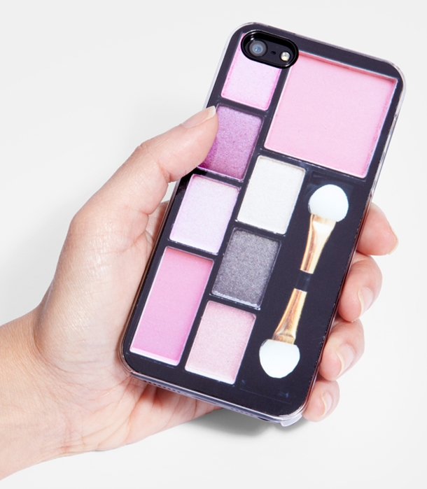 makeup compact iphone case