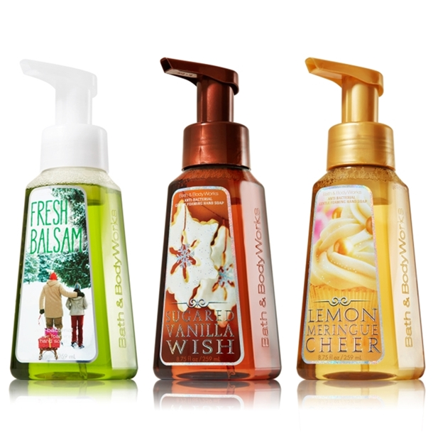 Bath & Body Works Holiday 2013 Hand Soap
