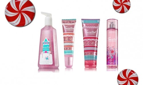Welcome Back Bath & Body Works Twisted Peppermint!