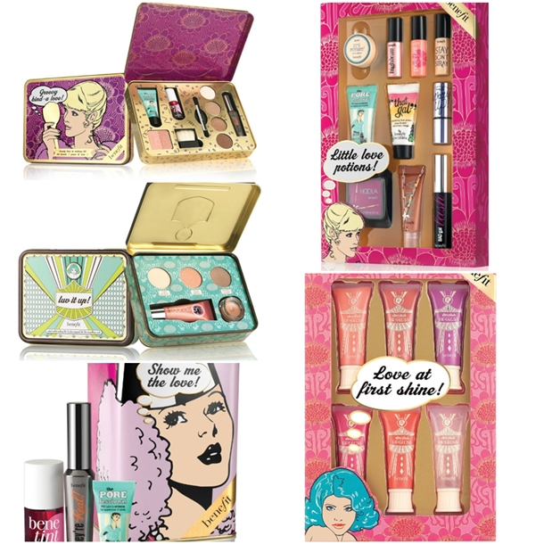 Benefit Holiday 2013 Gift Sets and palettes? Do you think Benefit