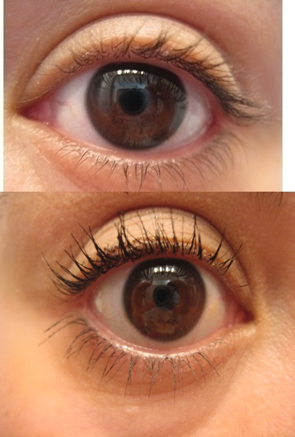 Make Up For Ever Smoky Extravagant Mascara Before After