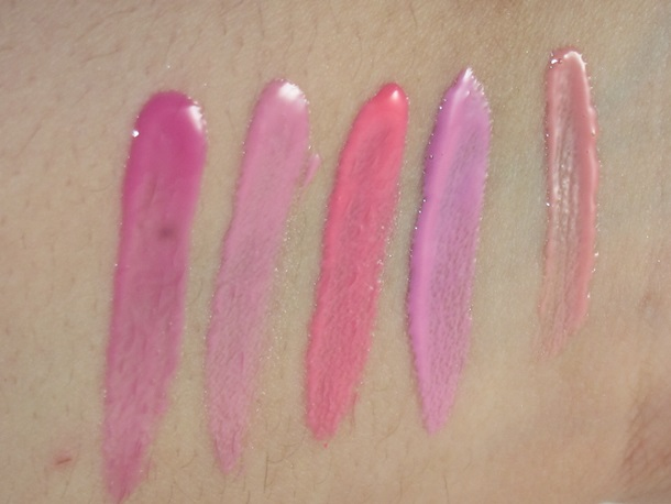 NYX Lip Butter Swatches