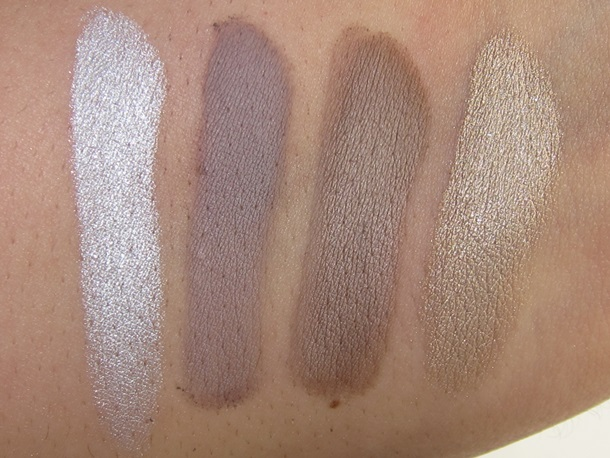 the Balm Voyage Makeup Swatches