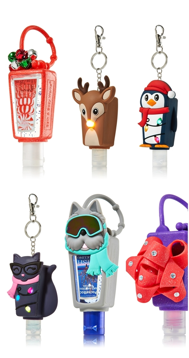 Bath & Body Works Holiday 2013 Pocketbac Holders