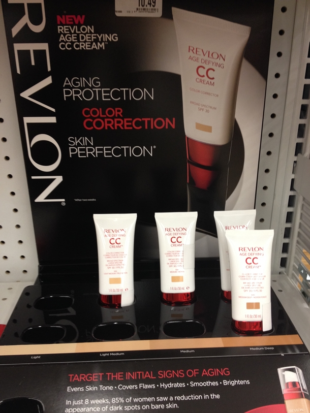 New Revlon Age Defying CC Cream