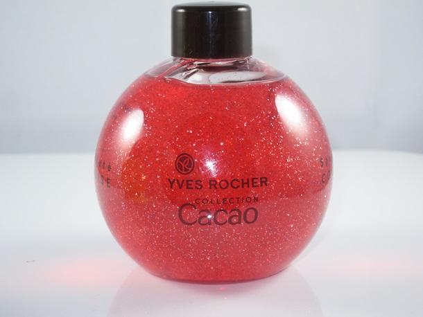 Yves Rocher Cocoa & Raspberry Sparkling Shower Gel